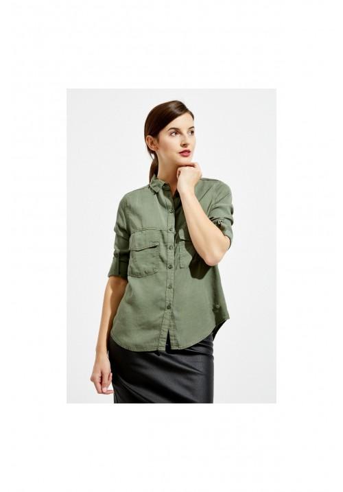 Блузка Z-KO-2424 OLIVE