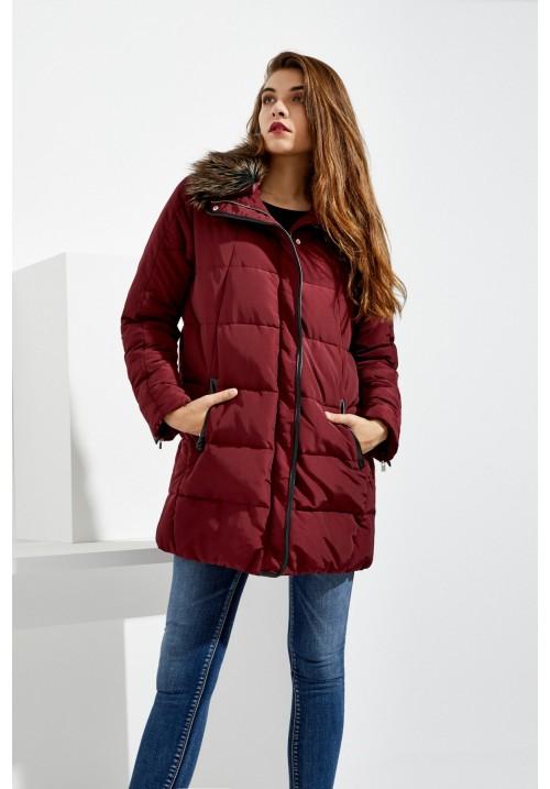Куртка Z-KU-2414-BURGUNDY