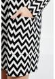 Платье Z-SU-2412-WHITE_BLACK