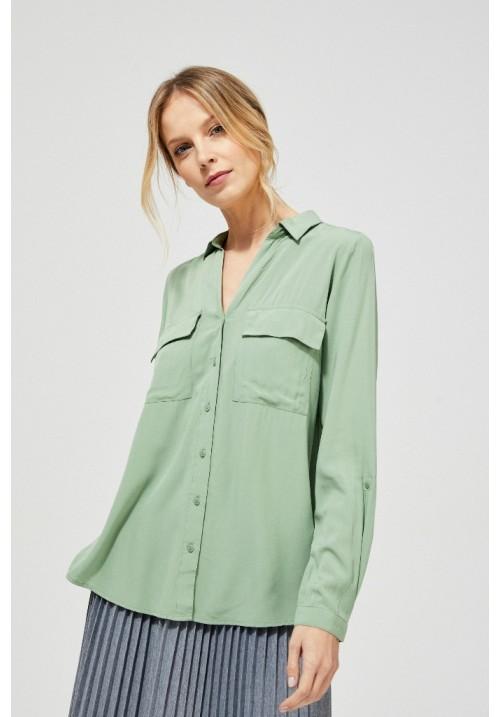 Блузка L-KO-3125 OLIVE