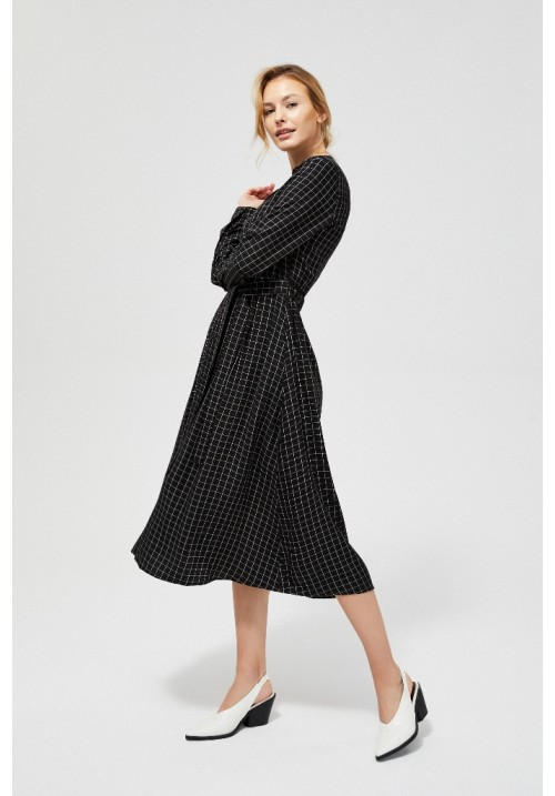 Платье L-SU-3100 BLACK_WHITE